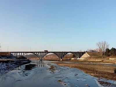 Podul de la Alexandria a fost redeschis circulației