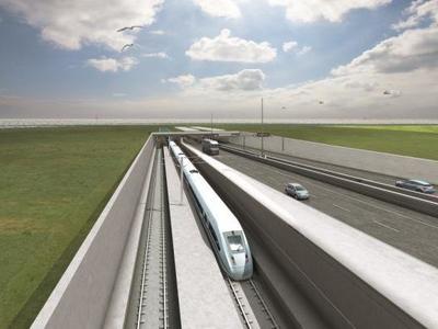 Создание автомобильно-железнодорожного тоннеля между Данией и Германией