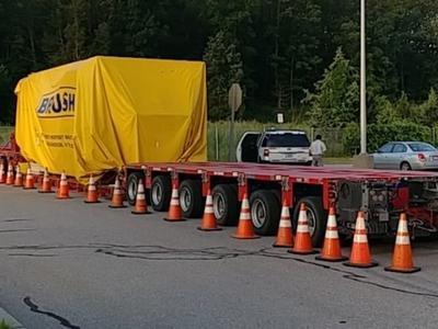 Крупнейший штраф выписан за перевозку крупногабаритного груза без лицензии