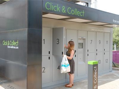 """Модель покупок с доставкой до дома понемногу начинает замещаться """"click & collect"""" (закажи on-line и забери в магазине)"""