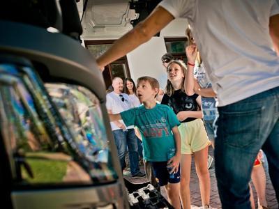 Kierowca zawodowy wzorem dla najmłodszych