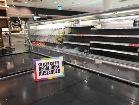 Niemiecki Supermarket Chciał Wstrząsnąć Swoimi Klientami