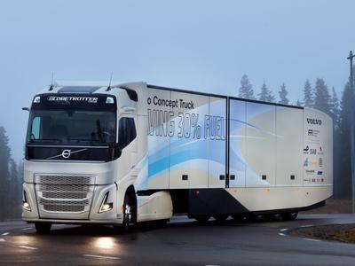 Volvo va lansa un camion diesel hibrid pentru curse lungi care va permite o economie de combustibil de până la 30%