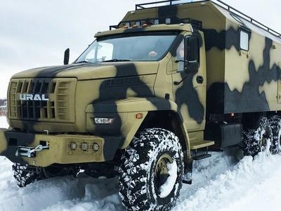 Ural Next – luksusowy kamper terenowy po rosyjsku
