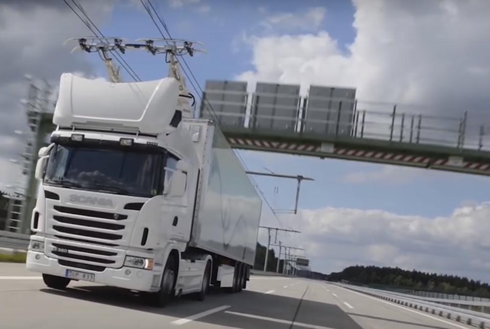Ciężarówki będą jak trolejbusy?