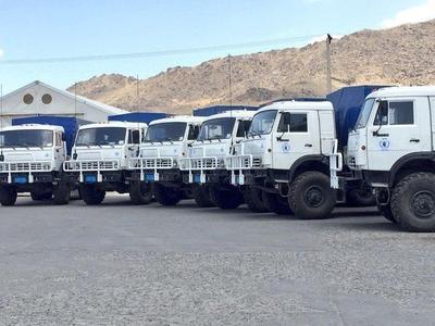 КАМАЗ поставит 127 единиц техники в Африку для программы ООН