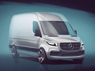 Nowy Sprinter – Mercedes zdradza kilka szczegółów o trzeciej generacji popularnego dostawczaka