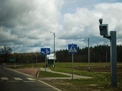 Pierwszy fotoradar przy autostradzie. Mierzy prędkość na A1