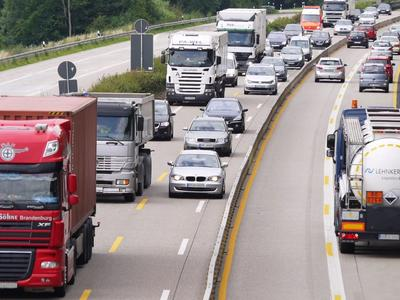 Около 43 проц. от общего объема грузооборота в РФ приходится на автомобильный транспорт