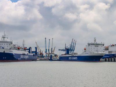 Klaipėdos uostas su nauju krovos rekordu