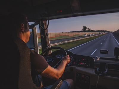 New drivers' hours' regulations in the EU from tomorrow. It applies to British truckers driving in the EU, too