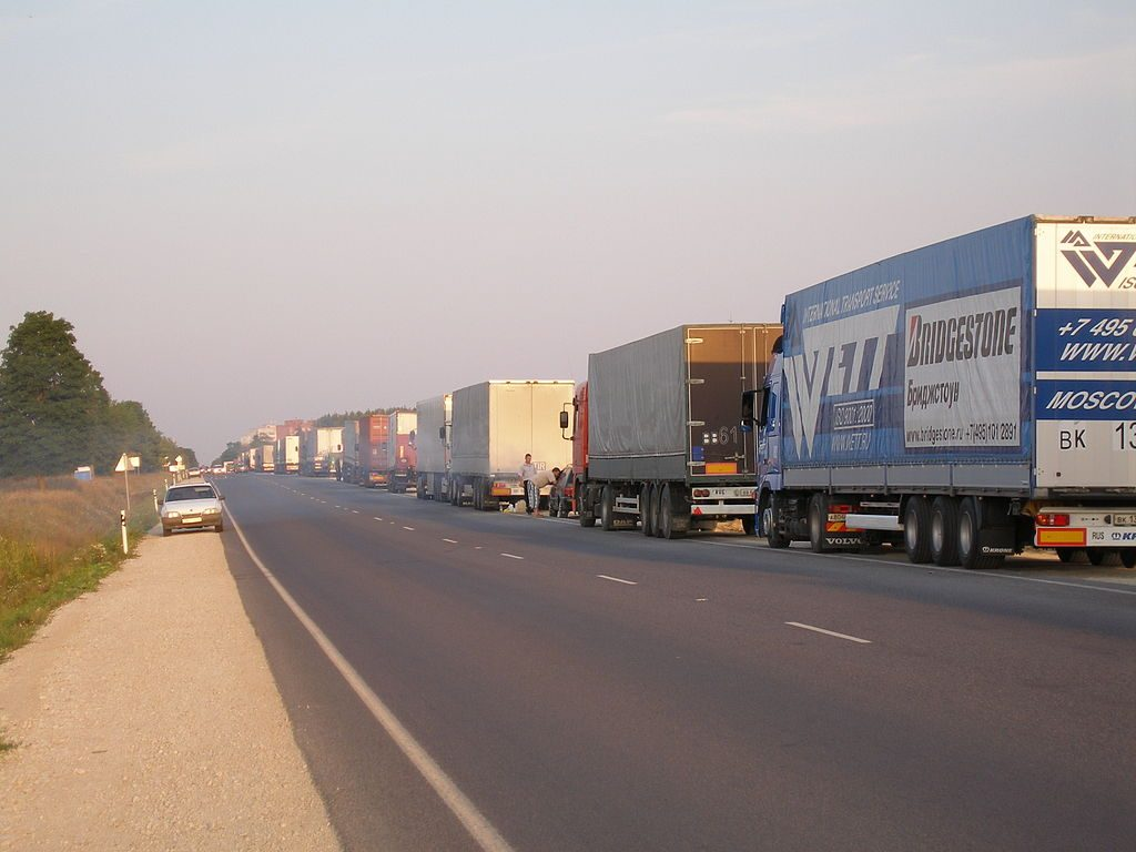 Polsko-rosyjski spór o limity przewozowe