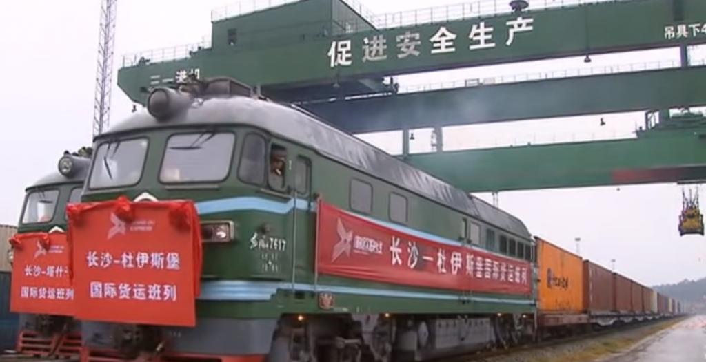 Polsko-chiński rekord w transporcie | Niemcy świętują, ciężarówki stoją
