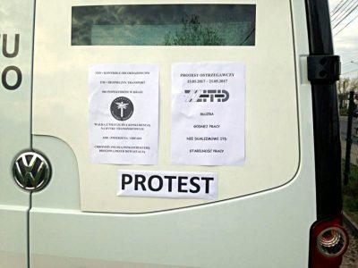 Ruszył protest inspektorów ITD. Będą kontrolować tylko polskich kierowców