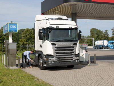 Évi 8000 euró megtakarítást jelenthet a CNG teherautó