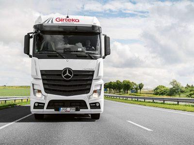 """SEB bankas ir """"Girteka Logistics"""" susitarė dėl rekordinės 95 mln. eurų lizingo paskolos"""