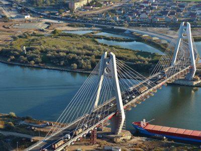 Circulație restricționată pe podul Agigea până la 1 noiembrie 2017