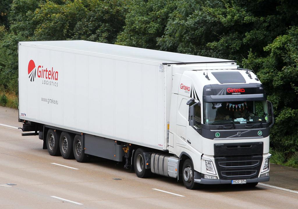 Girteka zainwestuje prawie milion euro w algorytm do zarządzania swoimi ciężarówkami. Po co to robi?