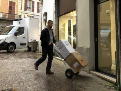 Deutsche Kurierunternehmen haben Probleme, Mitarbeiter zu finden