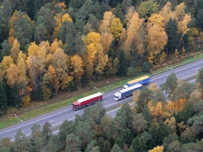Ruch ciężarowy w Niemczech rośnie. Polacy wciąż liderem, a Litwini mają imponujący wzrost