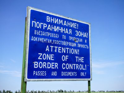 Pendelverkehr an der russischen Grenze. Die WM 2018 rückt näher