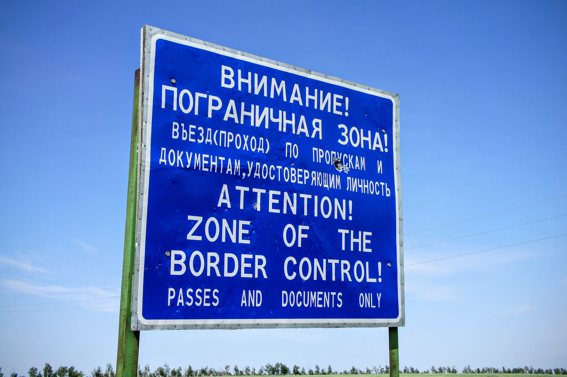 Dodatkowe kontrole ciężarówek poza przejściem granicznym w Rosji