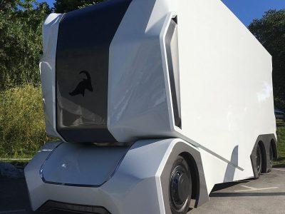 Zdalnie sterowane ciężarówki będą dostarczały towar do marketu popularnej sieci