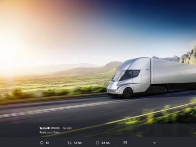Tesla präsentiert neuen Elektro-Lastwagen. Unglaubliche Reichweite