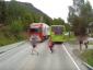 Dieses Video schockiert. Ein Truck überfuhr  beinahe einen Jungen