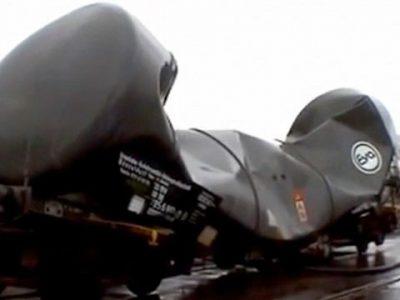 Взрыв цистерны, перевозящей жидкую смолу – грохот был таким большим, что мог повредить человеческие уши