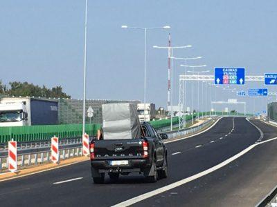 Jau kitais metais Kauną ir Marijampolę jungs keturių eismo juostų magistralė