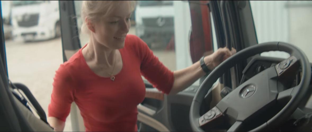 Niecodzienne spotkanie polskiej Trucking Girl i Rafała Zazuniuka
