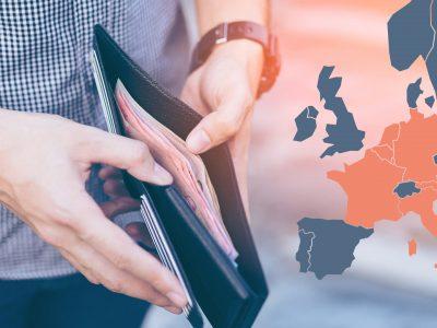 Minimalus atlyginimas Europoje – atsisiųskite NEMOKAMĄ VADOVĄ