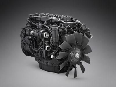 Мировая премьера двигателя Scania на газ.  Дальность действия впечатляет