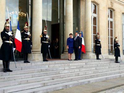 Premier Szydło rozmawiała z prezydentem Francji. Będzie kompromis w sprawie transportu?