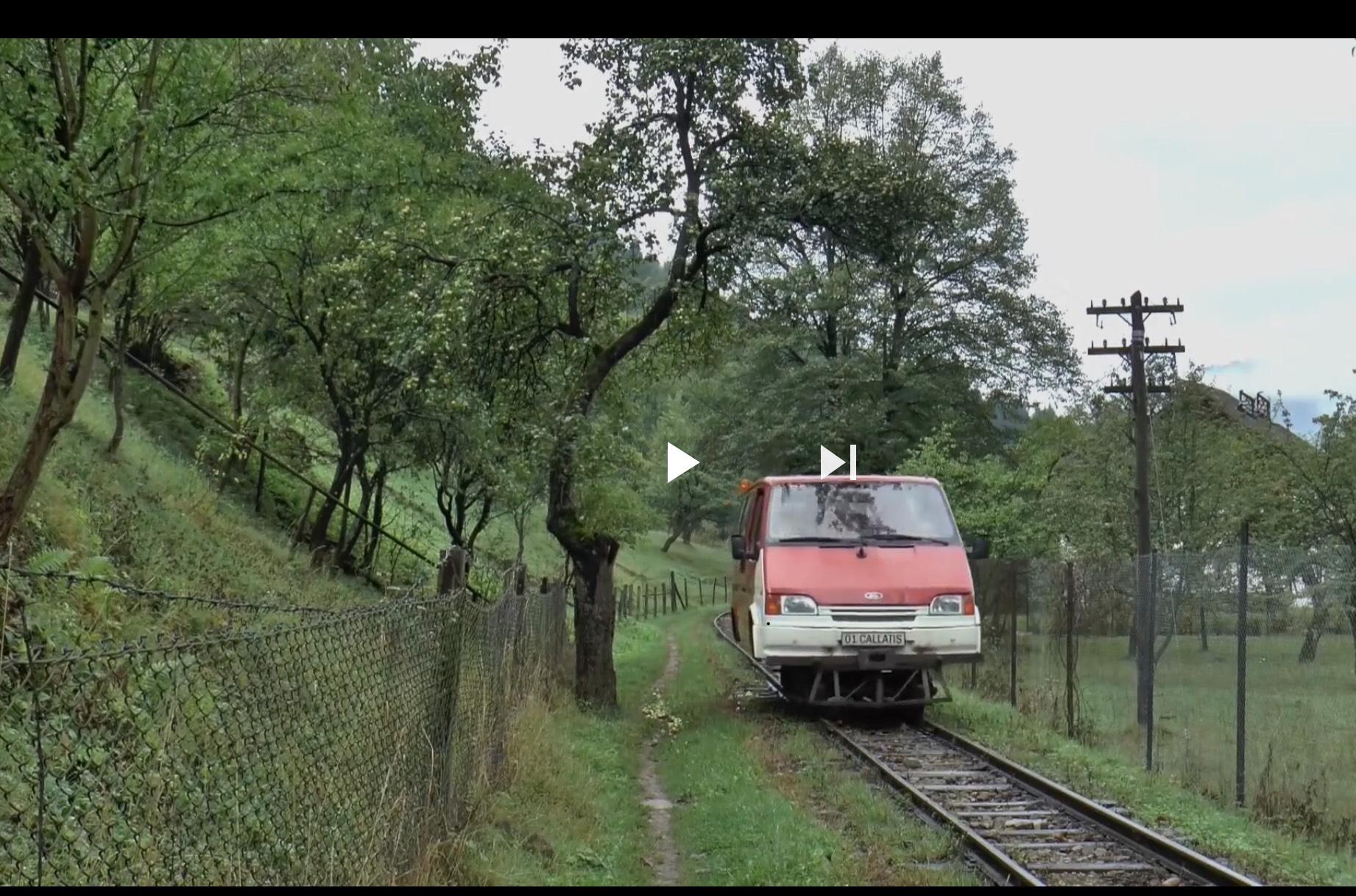 A jó öreg Ford Transit új utakon – videó