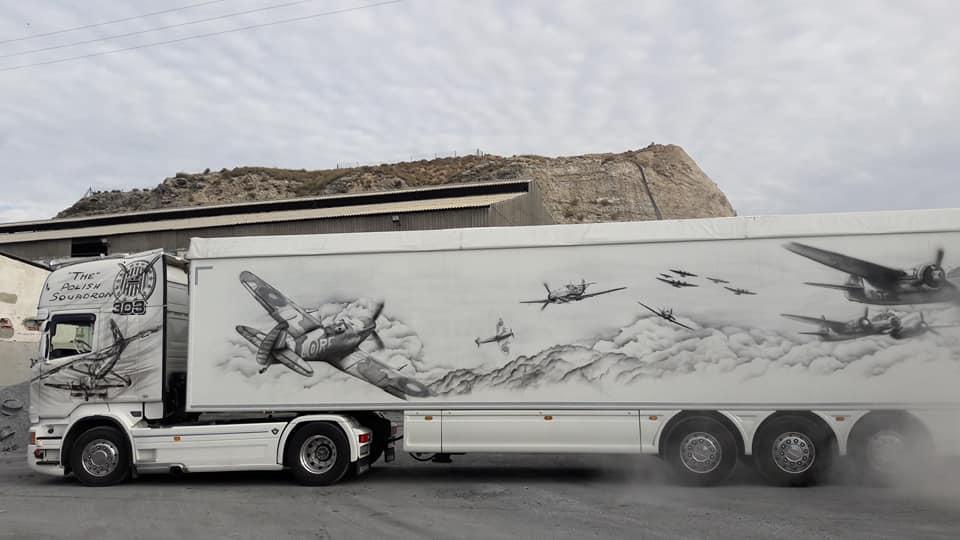 Hazafias teherautó, egy műalkotás, amely lenyűgözte a briteket. Ezt látnia kell!