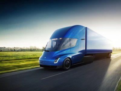 Tesla сообщает «предполагаемую цену» электрического грузовика Semi