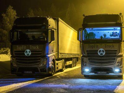 Daylight+: Cum poate lumina îmbunătăți concentrarea șoferilor de camion?