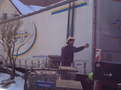 Еще один водитель грузовика слишком сильно доверился навигации…