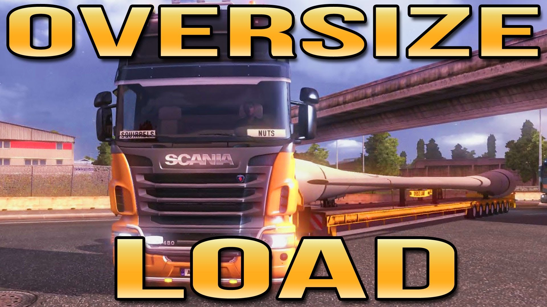 Most mindenki lehet túlméretes. Új kiegészítés az Euro Truck Simulator 2-hez