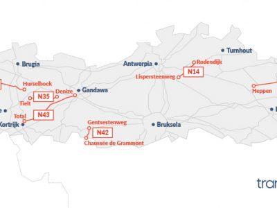 W 2018 r. Flandria wprowadzi myto na drogach lokalnych. Sprawdź, gdzie zapłacisz