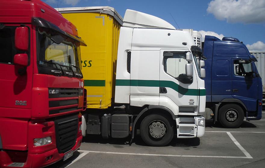 Sunkvežimių eismo draudimai gegužės 13-ąją (Šeštinės)