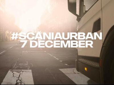 Scania stellt neue Lösungen für Stadtverkehr vor
