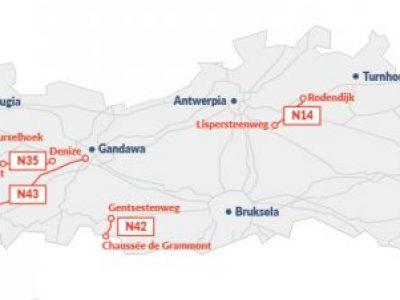 В 2018 г. Фландрия введет дорожные сборы на местных дорогах. Проверьте, где вы заплатите
