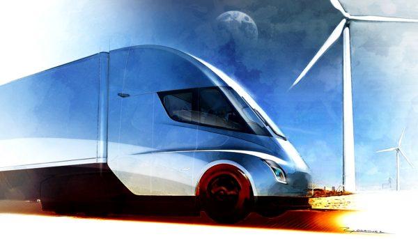 PepsiCo bestellt  100 Tesla Semi Trucks