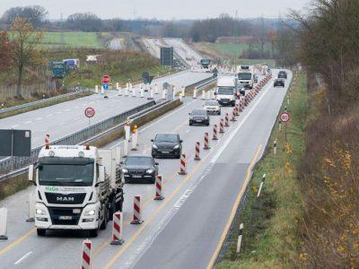 Weiterer Abschnitt auf der A21 in Schleswig-Holstein fertig