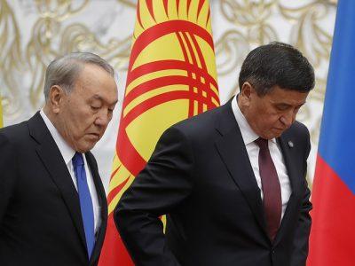 Киргизия и Казахстан подписали соглашение об урегулировании ситуации на границе