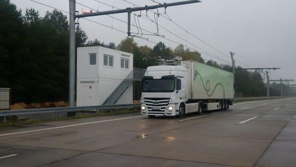 Dritte deutsche Teststrecke für Elektro-Lkw