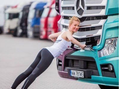 Prima sală de fitness din Cehia pentru șoferii de camion. Antrenează-te pe ruta spre Germania!